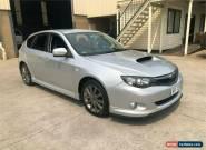 2008 Subaru Impreza G3 WRX Silver Manual M Hatchback for Sale