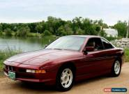 1991 BMW 8-Series for Sale