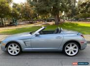 2005 Chrysler Crossfire CONVERTIBLE LIMITED for Sale