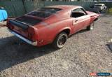 Classic 1969 Ford Mustang Fast Back - Sportsroof - Project - Solid - No Reserve for Sale