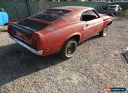 1969 Ford Mustang Fast Back - Sportsroof - Project - Solid - No Reserve for Sale