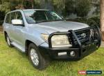 2009 Toyota Landcruiser UZJ200R 09 Upgrade GXL (4x4) Silver Automatic 5sp A for Sale