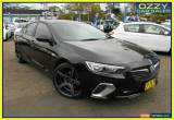 Classic 2018 Holden Commodore ZB RS Black Automatic 9sp A Liftback for Sale