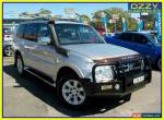 2012 Mitsubishi Pajero NW MY12 Platinum Edition Silver Automatic 5sp A Wagon for Sale