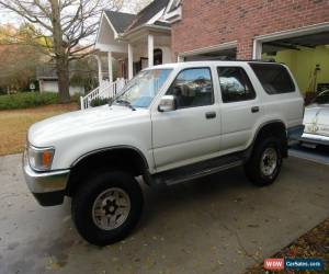 Classic 1995 Toyota 4Runner 4x2 SR5 (STD is Estimated) for Sale