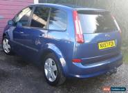 2007 FORD C-MAX STYLE BLUE 1.6 petrol for Sale