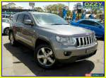 2012 Jeep Grand Cherokee WK MY12 Overland (4x4) Grey Automatic 5sp A Wagon for Sale