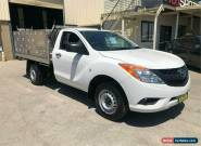 2014 Mazda BT-50 UP0YD1 XT White Manual M Cab Chassis for Sale
