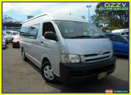 2007 Toyota HiAce TRH223R MY07 Commuter Silver Automatic 4sp A Bus for Sale