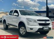 2014 Holden Colorado White Automatic A Utility for Sale