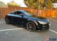 Audi TT tdi diesel black edition styling full service history baseball seats for Sale
