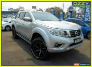 2016 Nissan Navara NP300 D23 ST (4x4) Silver 7 SP AUTOMATIC Dual Cab Utility for Sale