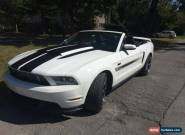 2011 Ford Mustang GT california Special convertible for Sale