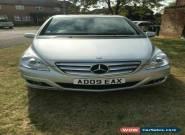 2009 Mercedes-Benz B Class 2.0 B180 CDI SE Hatchback 5dr Diesel Manual for Sale