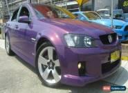 2008 Holden Commodore VE MY08 SS-V Purple Manual 6sp M Sedan for Sale