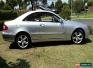 MERCEDES BENZ 2003 CLK320 ELEGANCE COUPE W209  for Sale