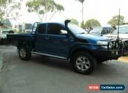 2010 Toyota Hilux KUN26R MY11 Upgrade SR5 (4x4) Blue Manual 5sp M X Cab Pickup for Sale