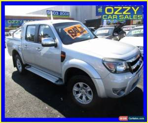 Classic 2010 Ford Ranger PK XLT (4x4) Silver Automatic 5sp A Dual Cab Pick-up for Sale