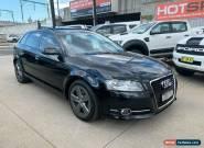 2010 Audi A3 8P TFSI Black Automatic A Hatchback for Sale