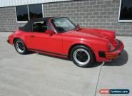 1986 Porsche 911 Carrera Convertible for Sale