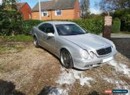Mercedes Benz AMG C320 CLK COUPE 2001 SILVER RARE for Sale