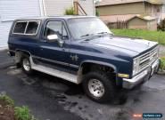 Chevrolet: Blazer Silverado K5 for Sale