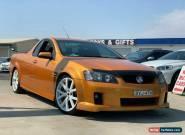 2010 Holden Ute VE II SV6 Utility Extended Cab 2dr Man 6sp 645kg 3.6i Gold M for Sale