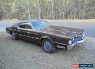 1972 FORD THUNDERBIRD COUPE 460 V8 AUTO 71949 ORIGINAL MILES STORED SINCE 1985 for Sale