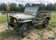 1942 Willys Station Wagon for Sale