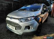 2017 FORD ECOSPORT T DAMAGE SALVAGE for Sale