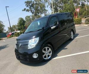 Classic 2009 Nissan Elgrand E51 Series 3 Highway Star Black Automatic A Wagon for Sale