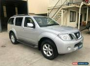 2011 Nissan Pathfinder R51 TI Silver Automatic A Wagon for Sale