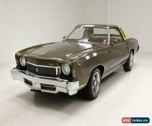 Classic 1973 Chevrolet Monte Carlo for Sale