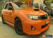 2012 Subaru WRX MY13 Club Spec (AWD) Orange Manual 5sp M Sedan for Sale