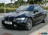 BMW M3 Convertible e93 Black for Sale