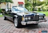 Classic 1973 Mercury Cougar for Sale