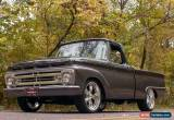 Classic 1964 Ford F-100 F-100 Styleside Pickup for Sale