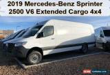 Classic 2019 Mercedes-Benz Sprinter Extended Cargo Van 170 in. WB 4WD High Roof V6 for Sale