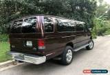 Classic 2001 Ford E-Series Van for Sale