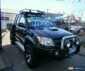 Classic 2008 Toyota Hilux KUN26R 08 Upgrade SR (4x4) Black Manual 5sp M for Sale