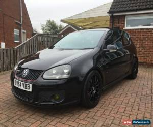 Classic VW GOLF GTI MK5 2.0 tfsi 3 DOOR, BLACK, GENUINE 98,000 WITH GREAT HISTORY for Sale