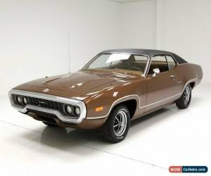 Classic 1972 Plymouth Satellite Sebring for Sale