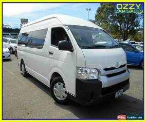 Classic 2016 Toyota HiAce TRH223R MY16 Commuter French Vanilla Automatic 6sp A Bus for Sale