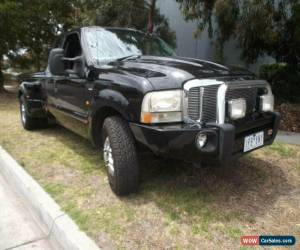 Classic 2002 Ford F250 RM XLT Black Automatic 4sp A Super Cab Pickup for Sale