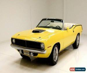 Classic 1970 Plymouth 'Cuda Convertible for Sale