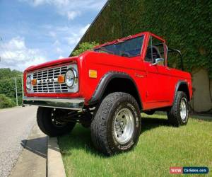 Classic 1968 Ford Bronco for Sale