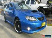 2008 Subaru Impreza MY09 WRX (AWD) Blue Manual 5sp M Hatchback for Sale