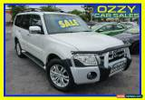 Classic 2012 Mitsubishi Pajero NW MY12 Exceed LWB (4x4) White Automatic 5sp A Wagon for Sale