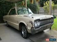1965 Dodge Monaco two-door hardtop sports couple for Sale