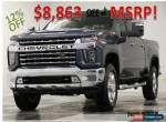 2020 Chevrolet Silverado 2500 HD MSRP$74255 4X4 LTZ Diesel Z71 GPS Gray Crew 4WD for Sale